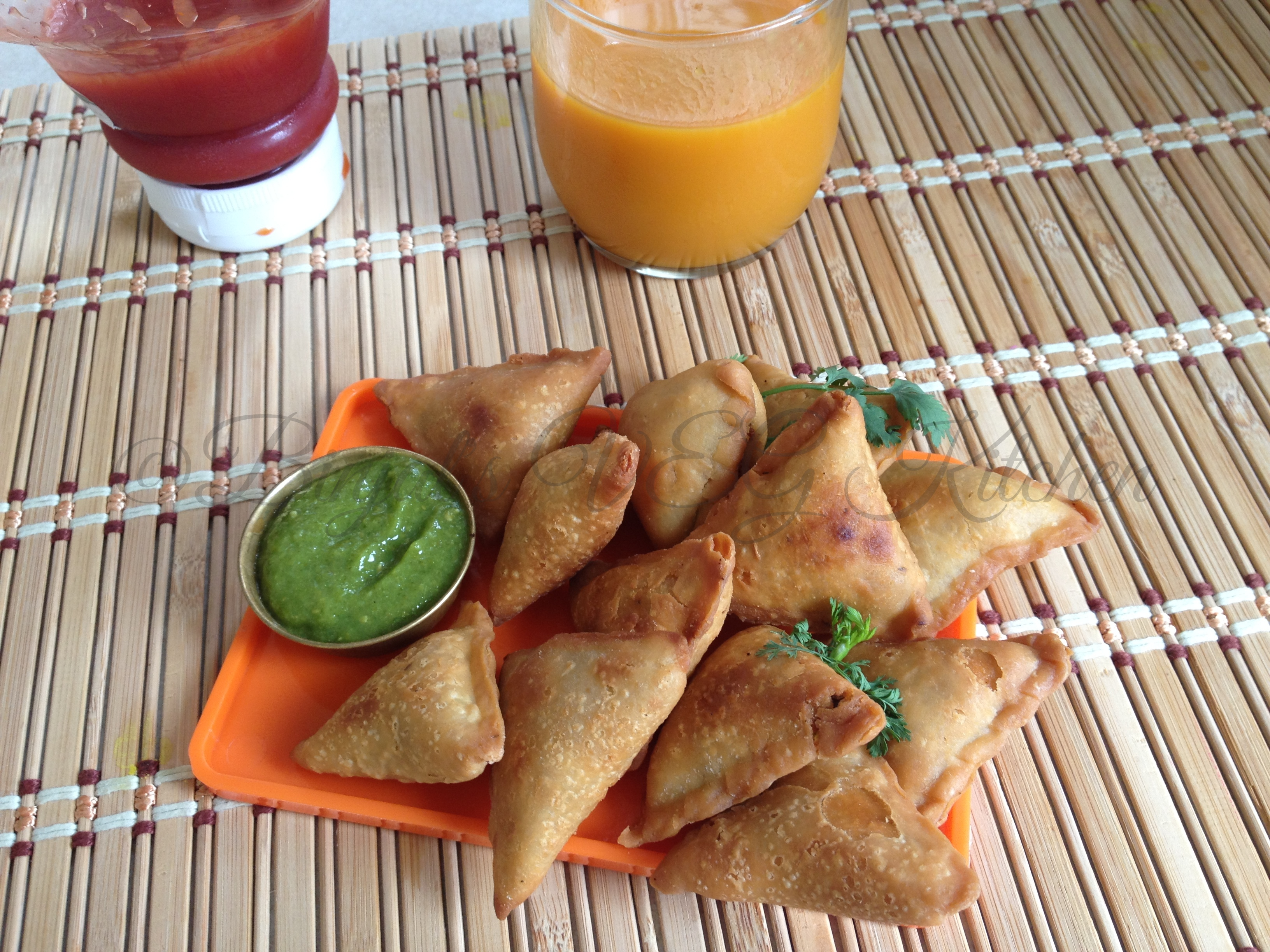 Mini Samosa Photography