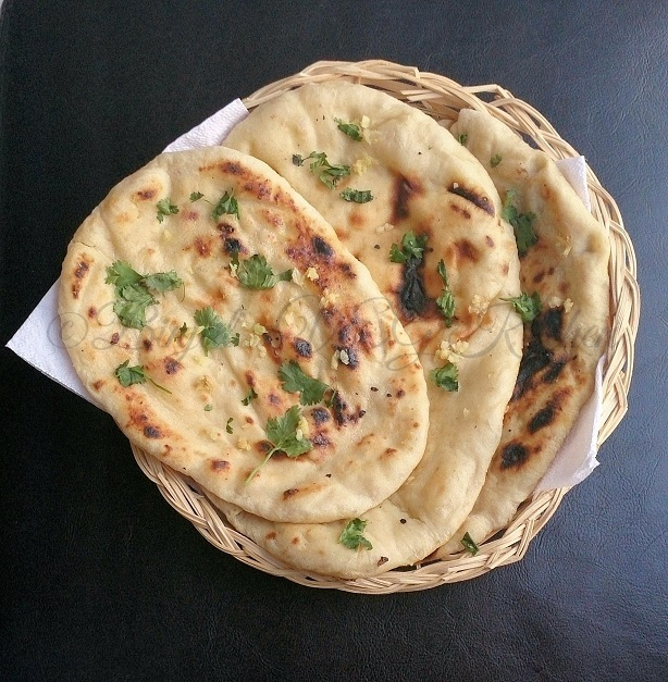 naan butter garlic without tandoor oven naan is a very popular ...