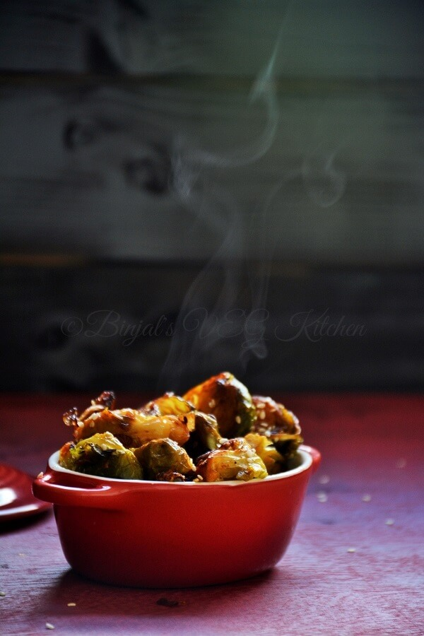 Stir-Fried Brussels Sprouts With Garlic And Chile Recipe ...