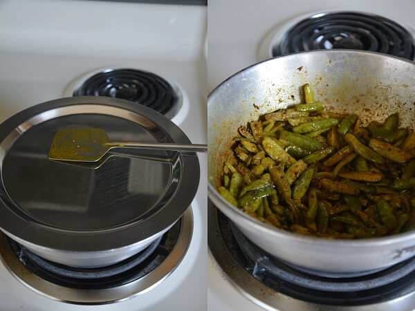 Remove from the flame, Ivy gourd stir fry is ready to serve it with ...
