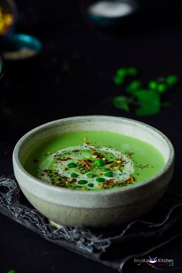 roasted garlic green peas soup print roasted garlic green peas soup ...