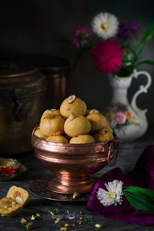 how to cook besan ladoo