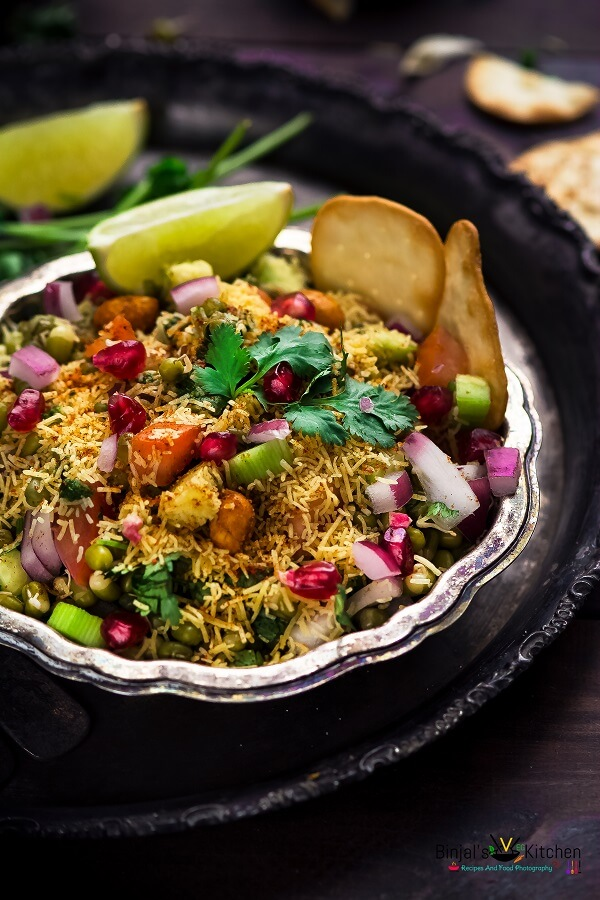 Sprouted Moong Bhel