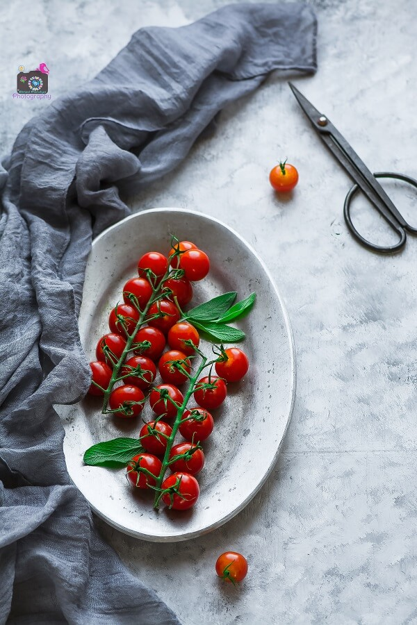 Cherry Tomato Photography