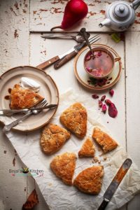 Masala Chai Pear Scones Recipe